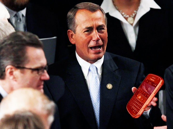 Members of Congress Can Now Play Cellphone Games While 'Working'