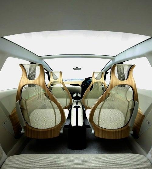 Honda Skydeck Concept: Scissor, Sliding Doors Reveal Ikea-Like Interior