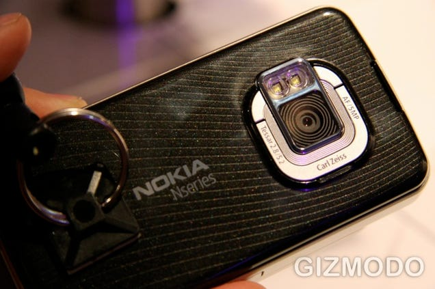 Nokia N96 Hands-On: Basically a Video Oriented N95