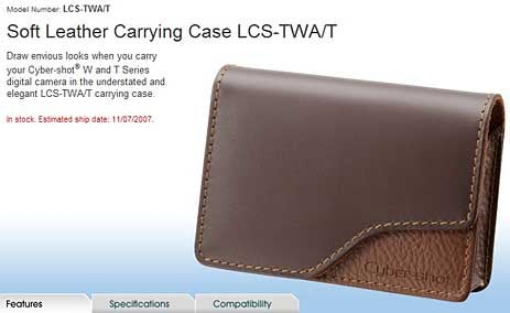 Sony TWA/T Camera Case is Unfortunately Named