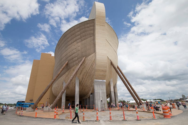 Barge-Size, Noah's Ark Is a Creationist's Wet Dream
