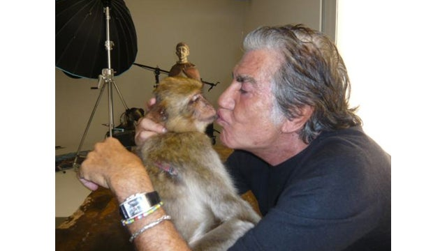 Roberto Cavalli Is Making Out with a Monkey