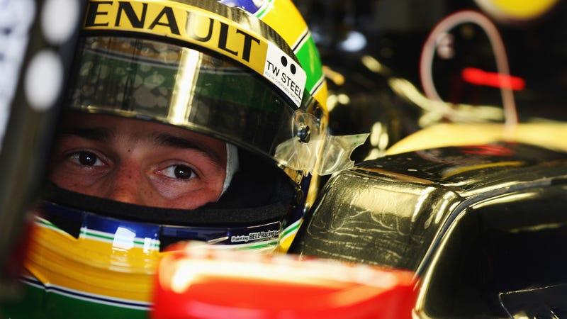 Lotus Renault puts a Senna in its F1 car
