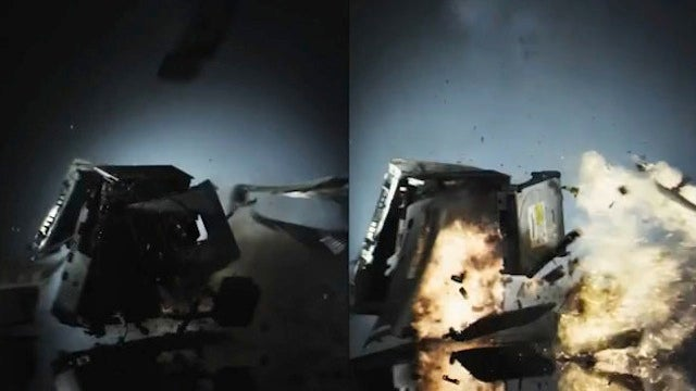 Watch An Xbox 360 Explode In Slow-Motion