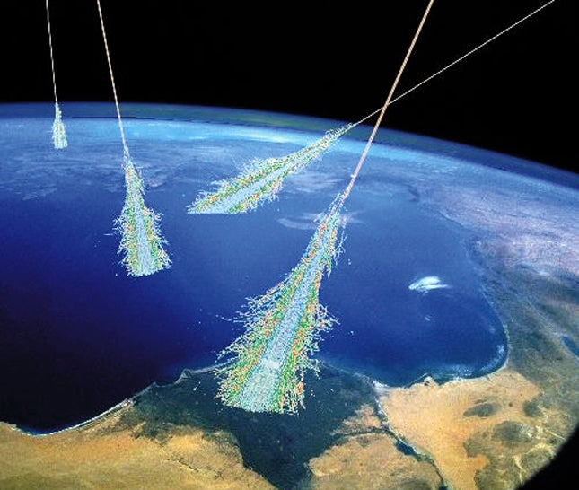 Cosmic rays could have caused one of the worst mass extinctions on Earth