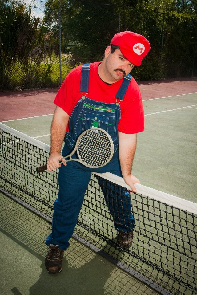 Sexy Mario's a-Back, Ready To Play Some Sexy Tennis
