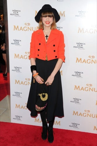Karl Lagerfeld Makes Red Carpet Movie Magic