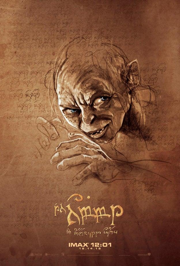 Hobbit IMAX Posters