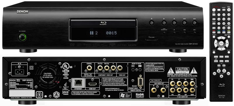 Denon's DBP-2010CI and DBP-1610CI Blu-ray Players: Pay More for Less