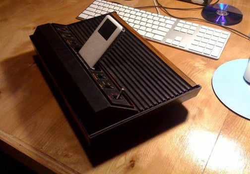 The Atari 2600 iPod Dock