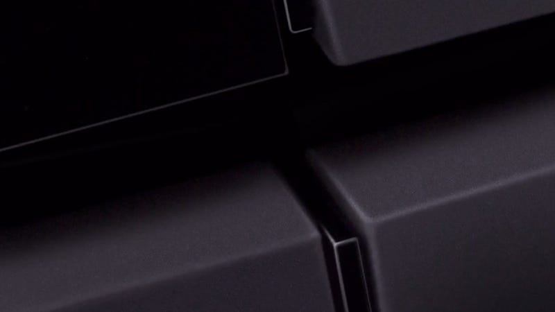 Here's Your First (Blurry) Look at the PS4