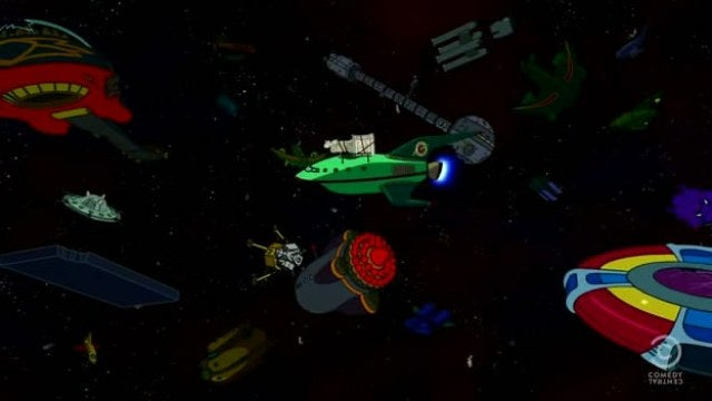 Futurama reveals why space whales are not to be trifled with