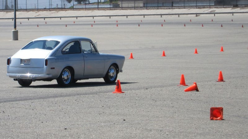 Why Did Top Gear USA Have A VW Fastback Delivered To A Track?