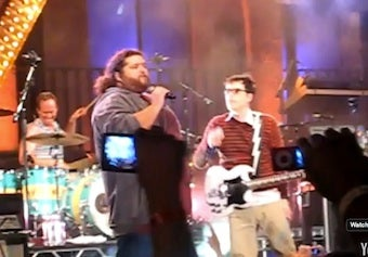 Watch Hurley From Lost Perform With Weezer