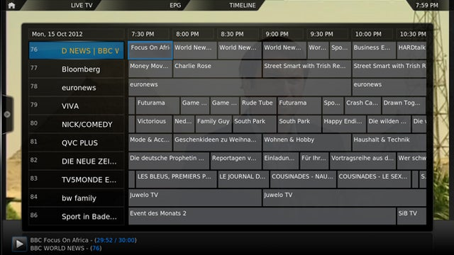 OpenELEC Adds PVR Support to Its Easy-Setup Version of XBMC