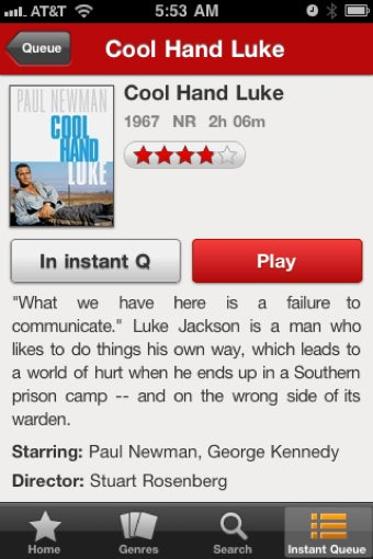 Netflix Instant Streaming Comes to the iPhone and iPod touch, Works over 3G