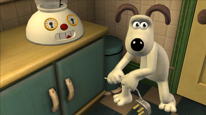 First Wallace and Gromit Screens Impressively Clay-like