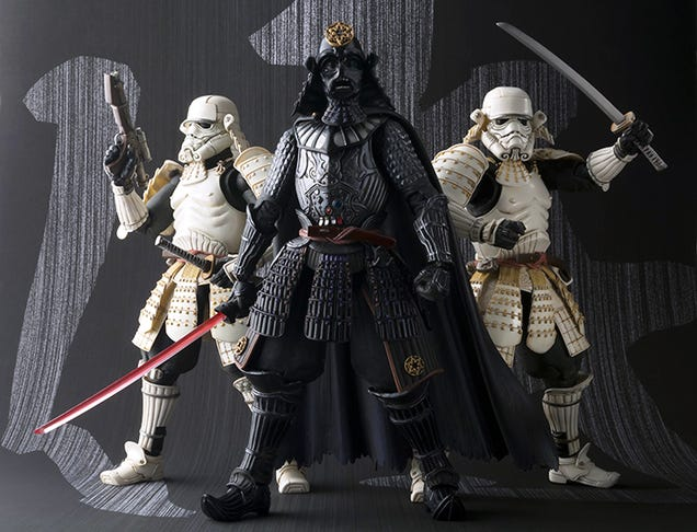 Samurai Star Wars is 12 parsecs worth of neat