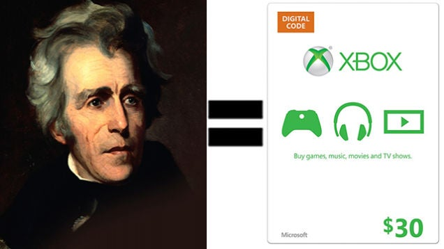 $30 of Xbox Credit for $20, iTunes Gift Cards, Credit Card Knife