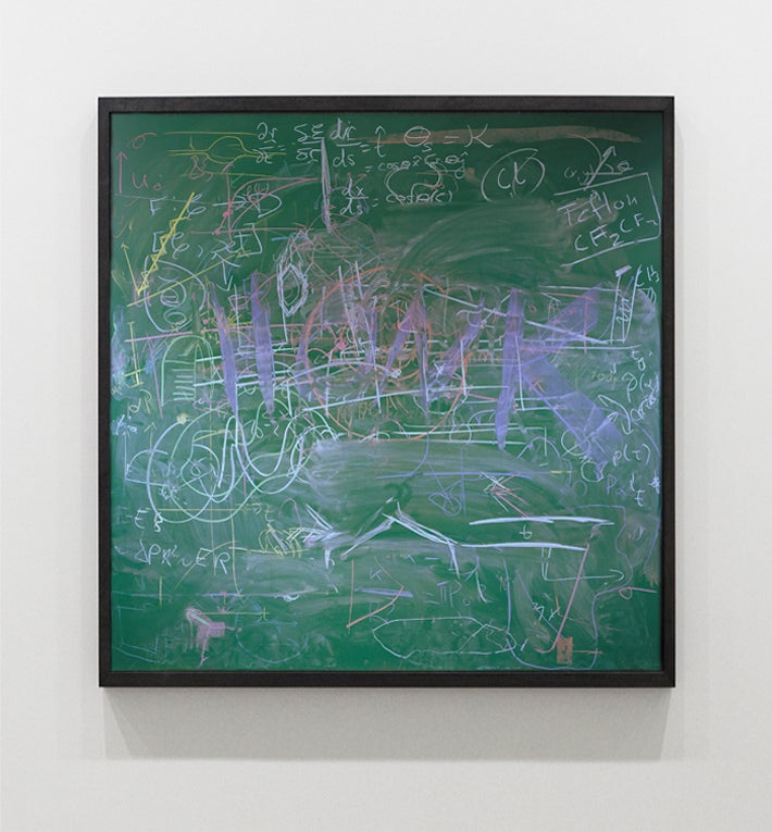 What Do You See In This Quantum Mechanics Class' Chalkboard?