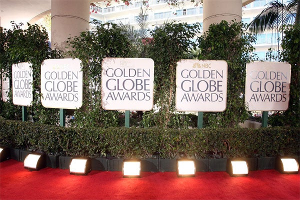 The Golden Globes 2009 — Red Carpet Style, On-Stage Antics, & Angie Vs. Anne