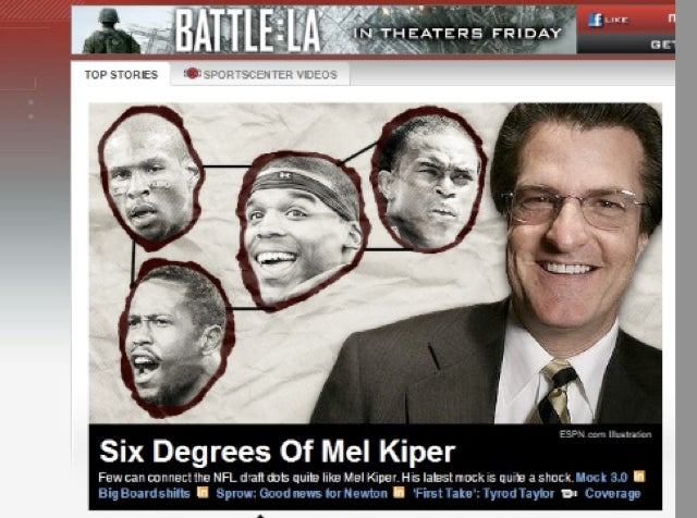 A Four-Headed Dong Finally Targets Mel Kiper's Dome