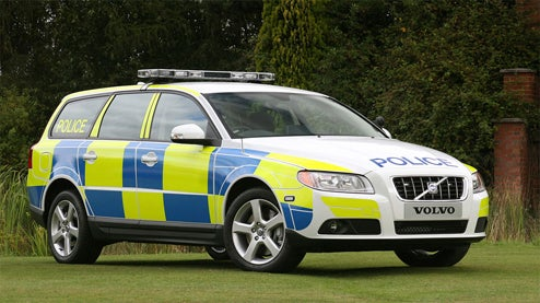 Volvo Claims V70 Police Package First Turn-Key Police Car