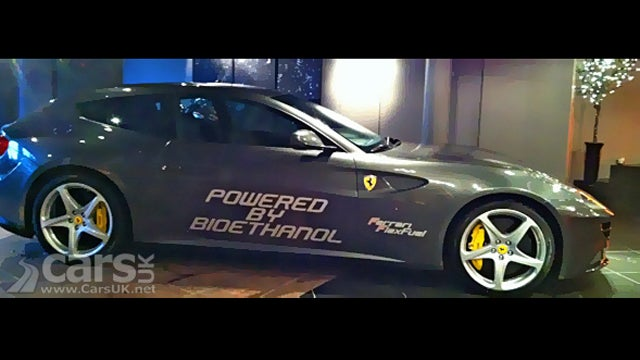 This 875-Horsepower Ferrari FF Runs On Corn Gas