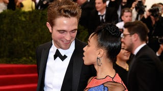 FKA Twigs and Robert Pattinson Bond Over a Mutual Love of Met Gala