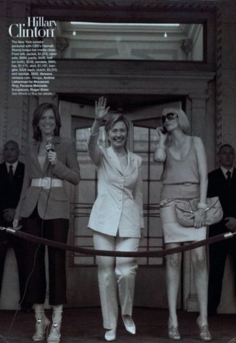The Harper's Bazaar Pictures Of Hillary Clinton In A Fancy Frock