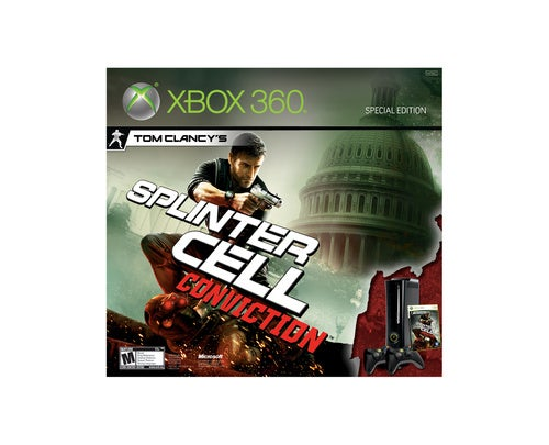 The Splinter Cell Conviction 360 Bundle Unveiled