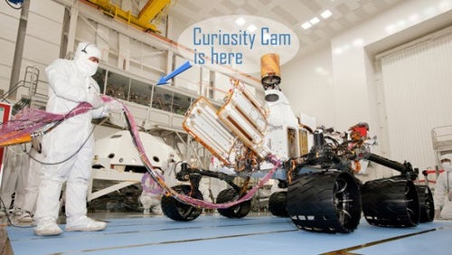 Peek Into NASA's Workshop and See the Curiosity Mars Rover Being Built