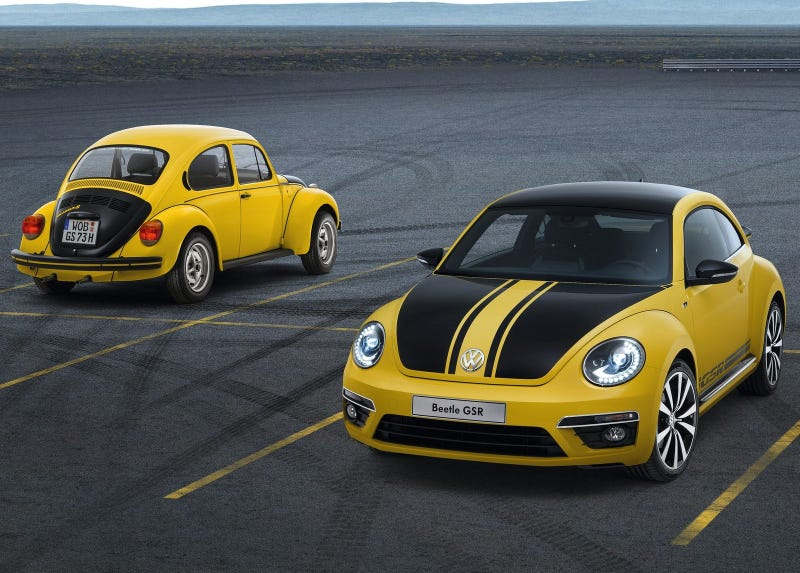 The Original Volkswagen Beetle GSR Was Denounced As A Hooligan's Car