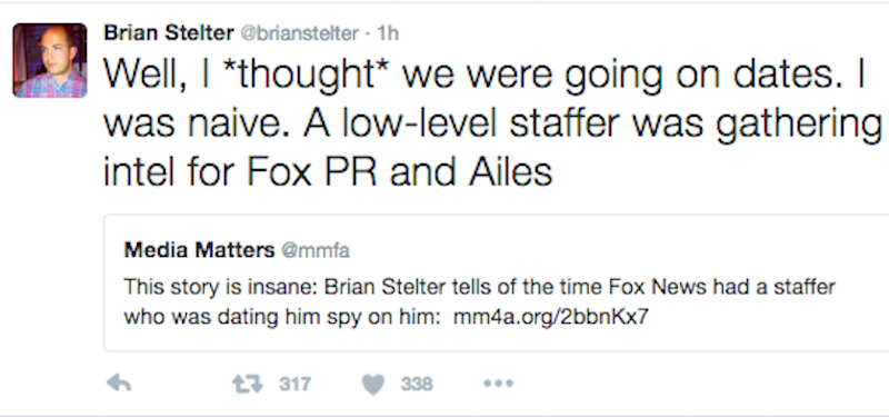 Signs You Are Actually Dating a Fox News Spy