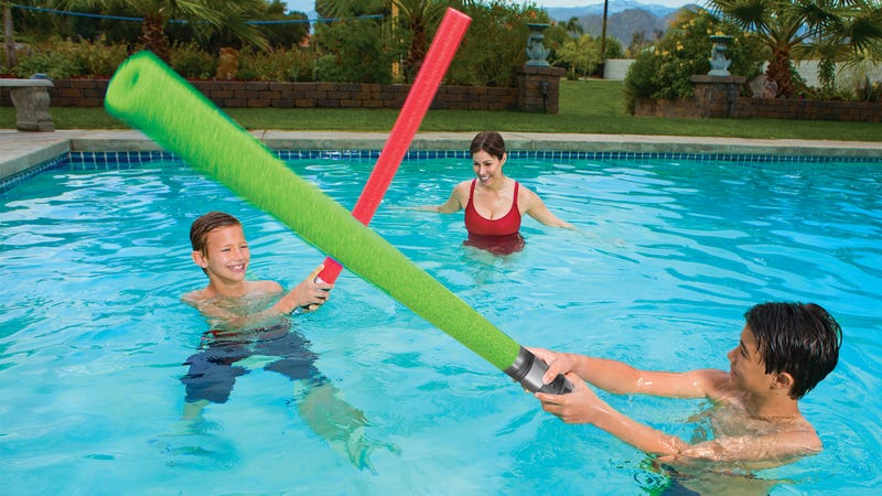 Has it Really Taken This Long For Lightsaber Pool Noodles to Exist?