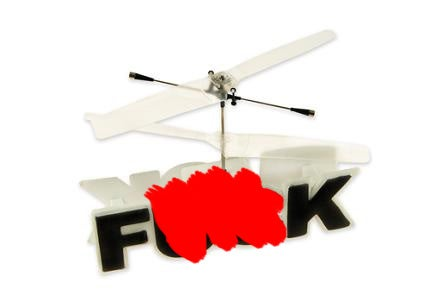Remote-Controlled Flying F**k Takes Things Pretty Literally (Borderline NSFW)