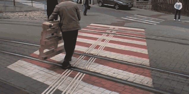 We Should All Be Using Vacant Trolley Tracks For Personal Pallet Trains