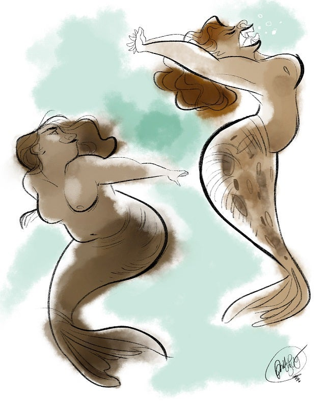 Artist reminds us to forget mermaids, selkies are where it's at