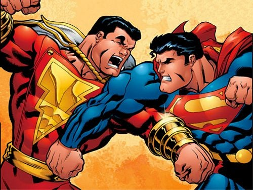 Superman Takes on Other Superheroes — In Court