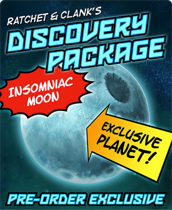 Insomniac Moons For Your Ratchet & Clank Pre-order