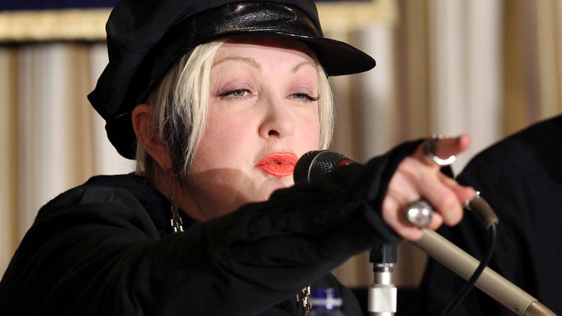 Cyndi Lauper: 'I Am a Drag Queen.'