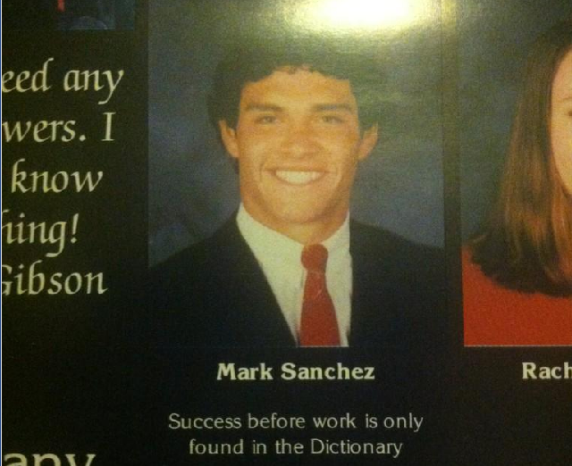 Mark Sanchez Was A Goofy High School Kid, Like Everyone Else