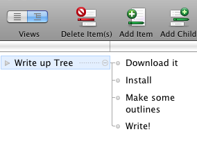 Tree Is a Simple and Attractive Horizontal Outliner