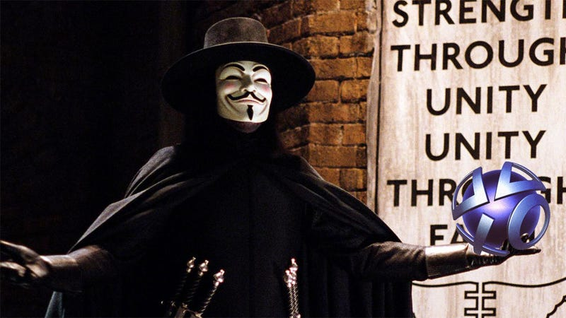 Report: Hackers Say Anonymous Likely Behind Sony Attacks
