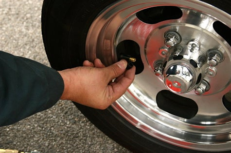And You Will Know Us by the Trail of Parts: Check Tire Pressure