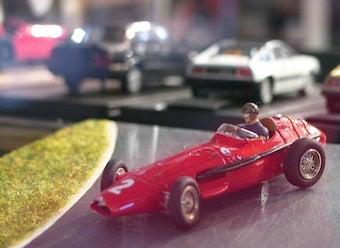 Juan Manuel Fangio Does Geneva