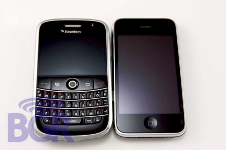 iPhone 3G vs. BlackBerry Bold: First Head to Head