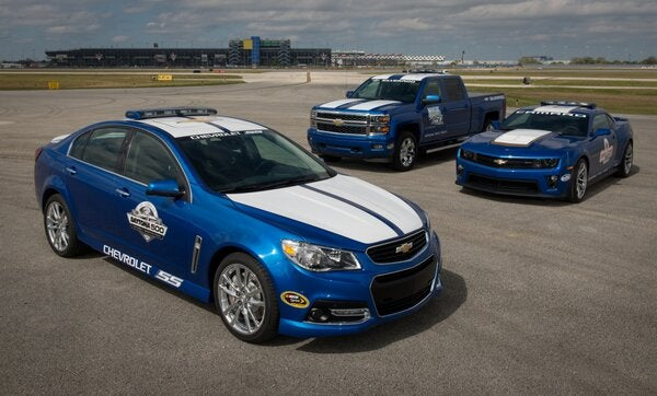 Chevrolet SS Daytona 500 Pace Car Edition Revealed