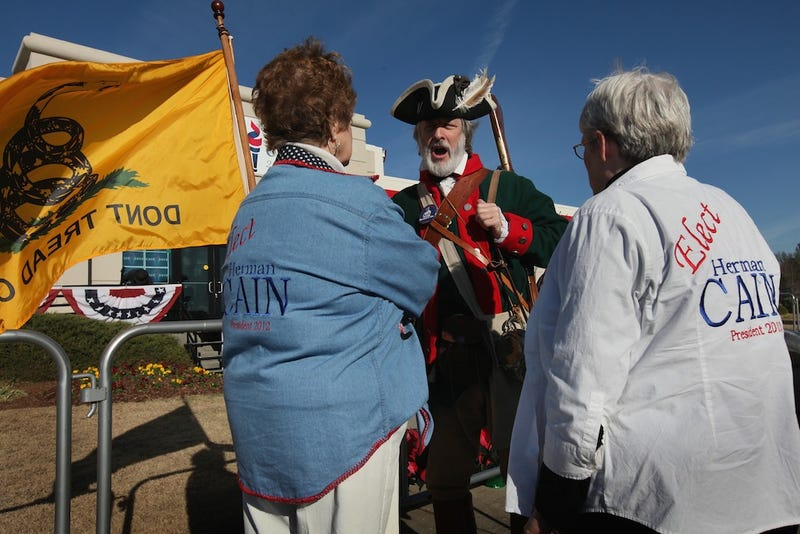 Tea Party Furious Over IRS Thinking Tea Party Sounds Political