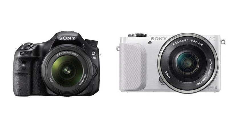 Leaked Images Show Off Sony's New Advanced Amateur Camera Arsenal